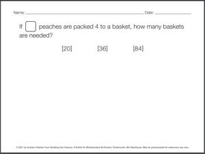Set A - Contextualized Practice Problem